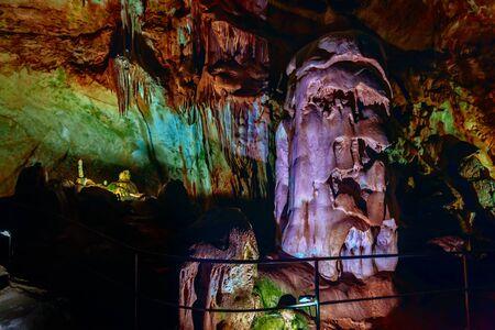 Marble Cave Chatyrdag plateau Crimea Russia by Sergey Nosov Stok Fotoğraf