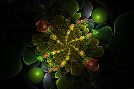 Fractal flowers balls