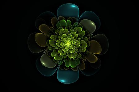 Floral Random Fractal