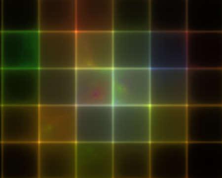 Computer Generated Fractal Image Stok Fotoğraf