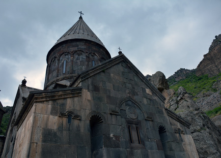 apostolic: Apostolic church in geghard monastery, Armenia Stock Photo