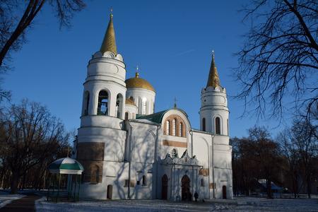 sobor: Saviour-Transfiguration Cathedral of Chernihiv  (Spaso-Preobrazhensky sobor)  11 century