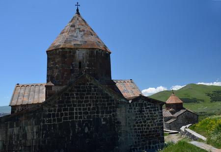 Two churches of Sevanavank monastery, Armenia