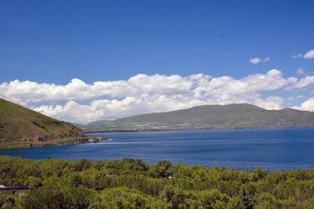 Mountains next to Sevan lake, Armenia