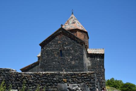 Side view of Sevanavank church, Armenia