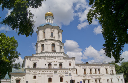 collegium: Collegium in Chernihiv, view of the bell tower, in summer