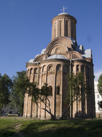 Piatnitska church in Chernihiv, Ukraine, in good weather Stock Photo