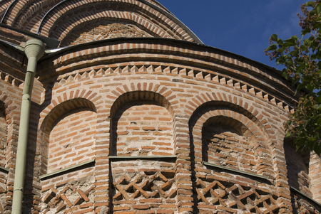 small detail of Pyatnitska church, Ukraine, from the back