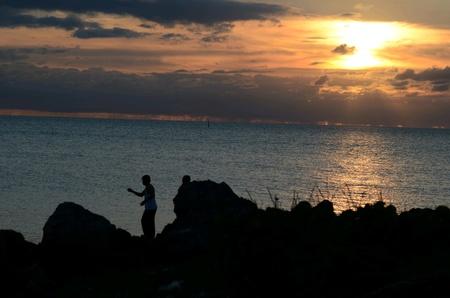 Bermuda sunset Banco de Imagens