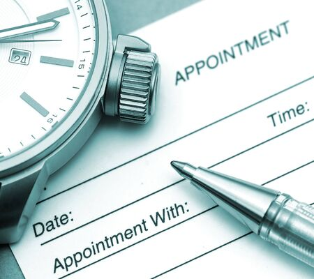 appointment: Time to Make an Appointment