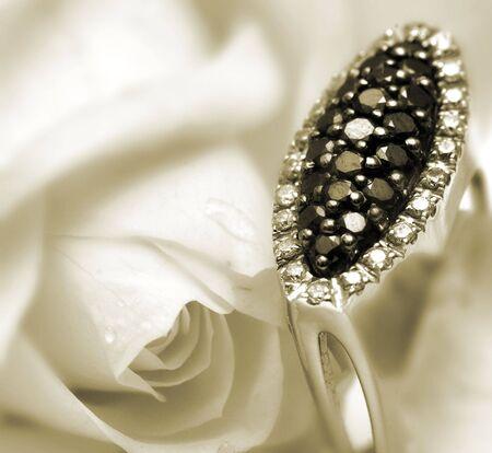 diamante negro: Negro Diamond Ring