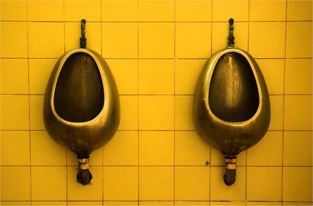 defecation: Urinal