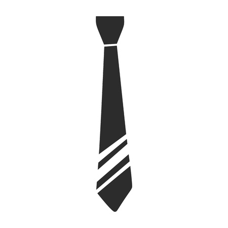 Necktie clothes icon. Simple illustration of necktie clothes vector icon for web design isolated on white background