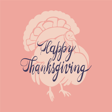 Turkey cock thanksgiving concept background. Simple illustration of turkey cock thanksgiving vector concept background for web design  イラスト・ベクター素材
