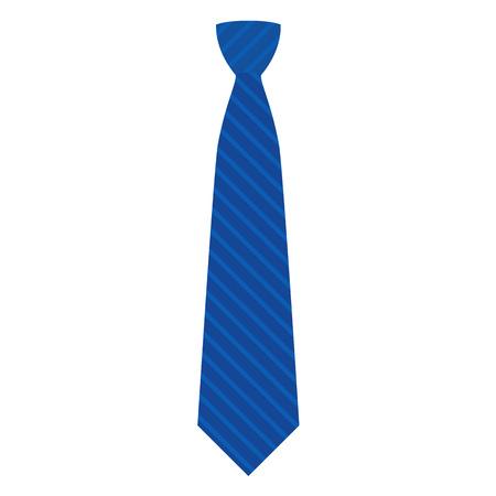 Icône de cravate bleue. Télévision illustration de l'icône de vecteur de cravate bleue pour la conception web