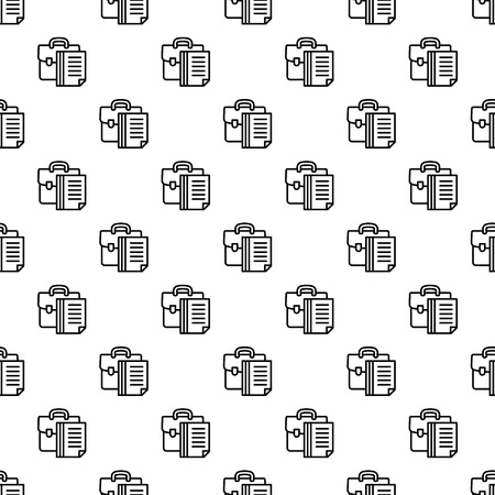 Money suitcase pattern seamless repeat background for any web design Illustration