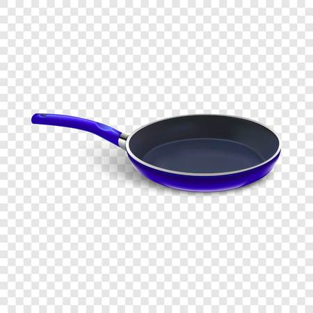 Griddle icon. Realistic illustration of griddle icon for web design on transparent background for web Stock Photo