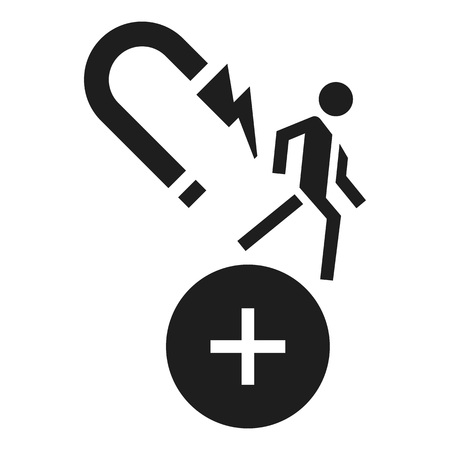 Customer retention icon. Simple illustration of customer retention icon for web design isolated on white background