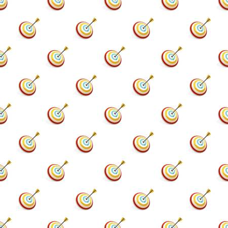 Arrow in target pattern seamless repeat background for any web design