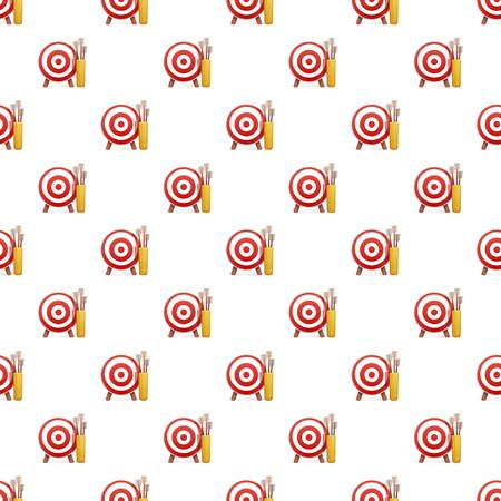 Target arrow pattern seamless repeat background for any web design Stock Photo