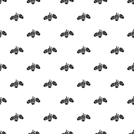 Hanukkah dreidel pattern vettore senza soluzione di continuità ripetere per qualsiasi web design