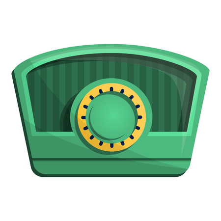 Am radio icon. Cartoon of am radio vector icon for web design isolated on white background