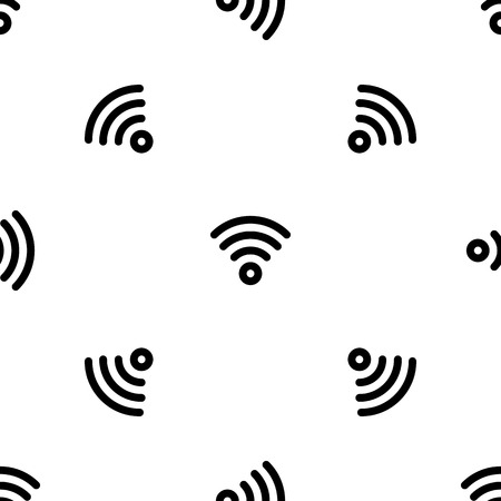 Wireless pattern seamless vector repeat for any web design Ilustracja