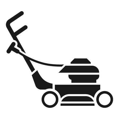 Icône de tondeuse à gazon. Simple illustration de l'icône vecteur tondeuse à gazon pour la conception web isolé sur fond blanc