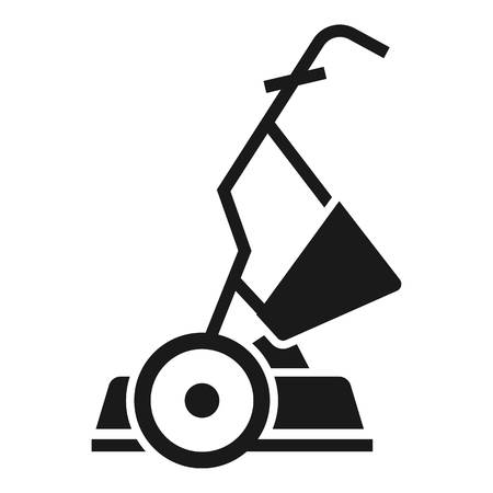 Yard grass cutter icon. Simple illustration of yard grass cutter vector icon for web design isolated on white background Stock Illustratie