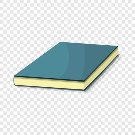 Blue book icon. Cartoon of blue book vector icon for web design