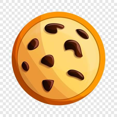 Peanut cookies icon. Cartoon of peanut cookies vector icon for web design