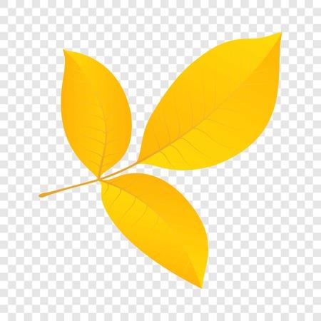 Autumn leaf icon. Flat illustration of autumn leaf vector icon for web design Illustration