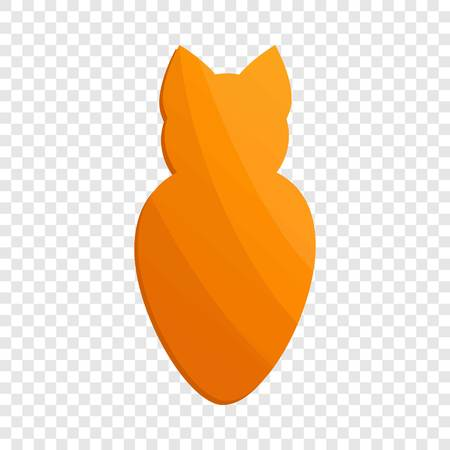 Cat cookies icon. Cartoon of cat cookies vector icon for web design