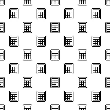 School calculator pattern seamless vector repeat for any web design