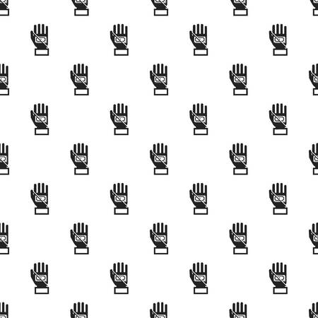 No bribery money pattern seamless repeat for any web design Stock Photo