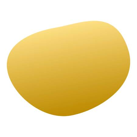Potato icon. Isometric of potato vector icon for web design isolated on white background