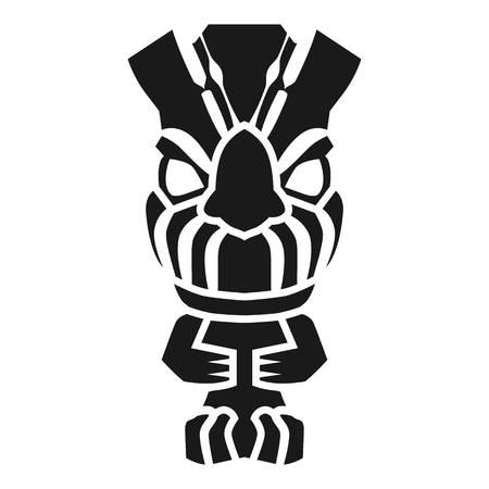 Maya idol icon. Simple illustration of maya idol vector icon for web design isolated on white background