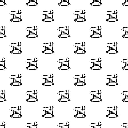 Torah papyrus pattern seamless vector repeat for any web design