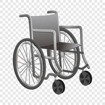 Wheelchair icon. Cartoon of wheelchair vector icon for web design  イラスト・ベクター素材