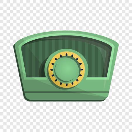 Am radio icon. Cartoon of am radio vector icon for web design Illustration