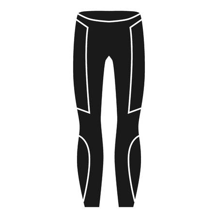 Thermal pants icon. Simple illustration of thermal pants vector icon for web design isolated on white background