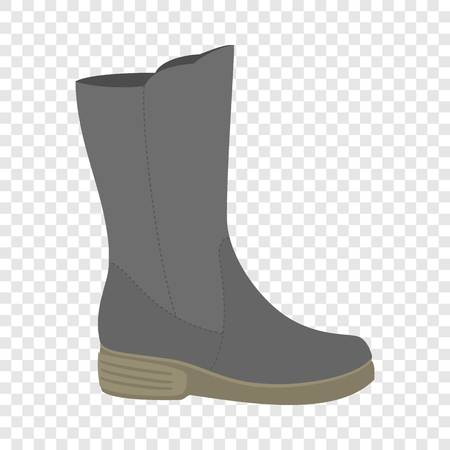 Waterproof shoe icon. Flat illustration of waterproof shoe vector icon for web design Illustration