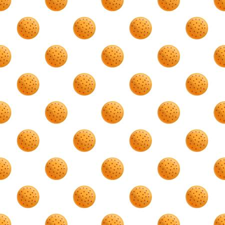 Plain biscuit pattern seamless vector repeat for any web design
