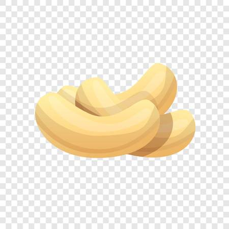 Cashew icon. Cartoon of cashew icon for web design
