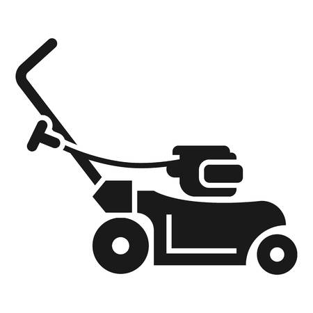 Rotary grass cutter icon. Simple illustration of rotary grass cutter icon for web design isolated on white background Stockfoto