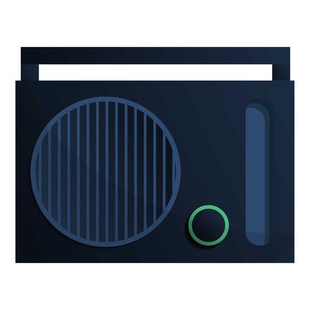 Radio icon. Cartoon of radio icon for web design isolated on white background Stock Photo