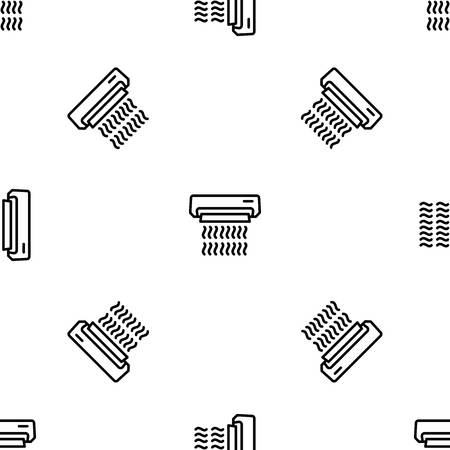 Work conditioner pattern seamless repeat for any web design