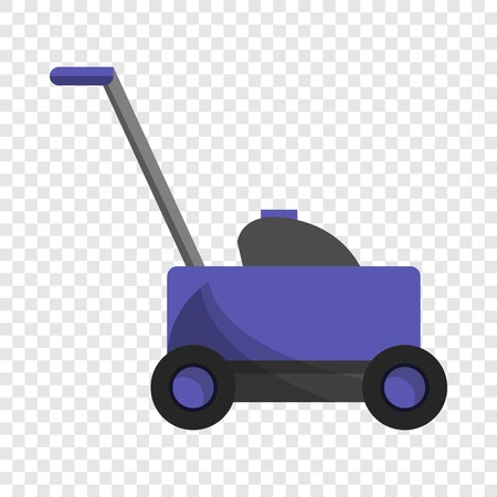 Grass cutter icon. Cartoon of grass cutter vector icon for web design for web design