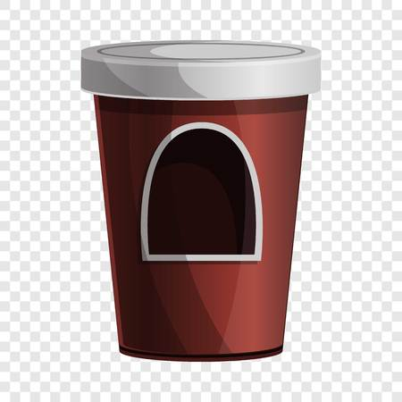 Coffee kiosk icon. Cartoon of coffee kiosk vector icon for web design for web design Illustration