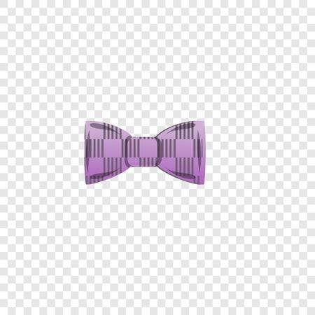 Polka bow tie icon. Cartoon of polka bow tie vector icon for web design for web design